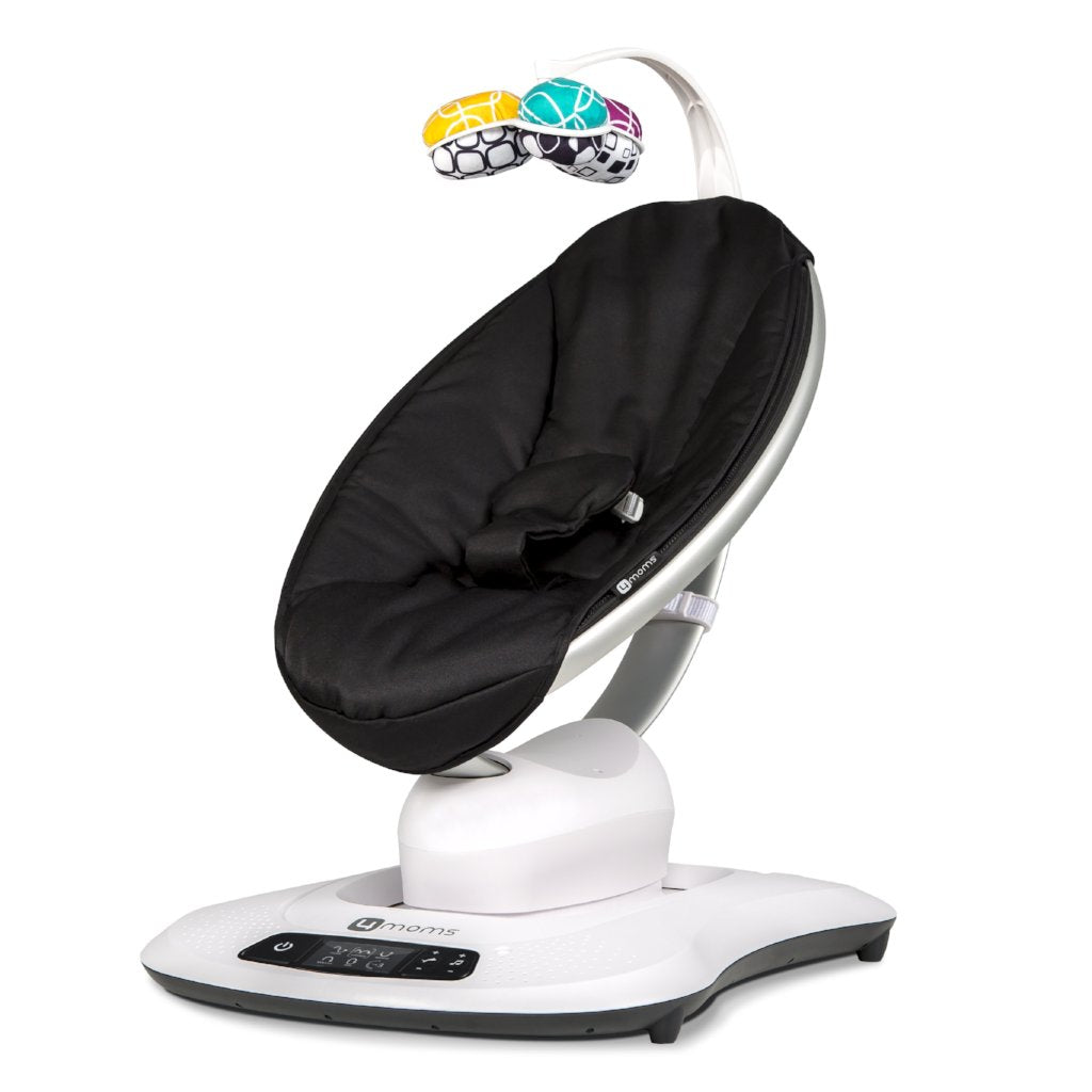 mamaRoo 4 Infant Seat - Classic Black by 4Moms