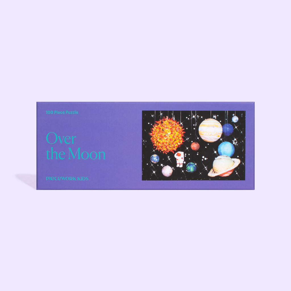 Over the Moon 100 Piece Puzzle by Piecework Puzzles