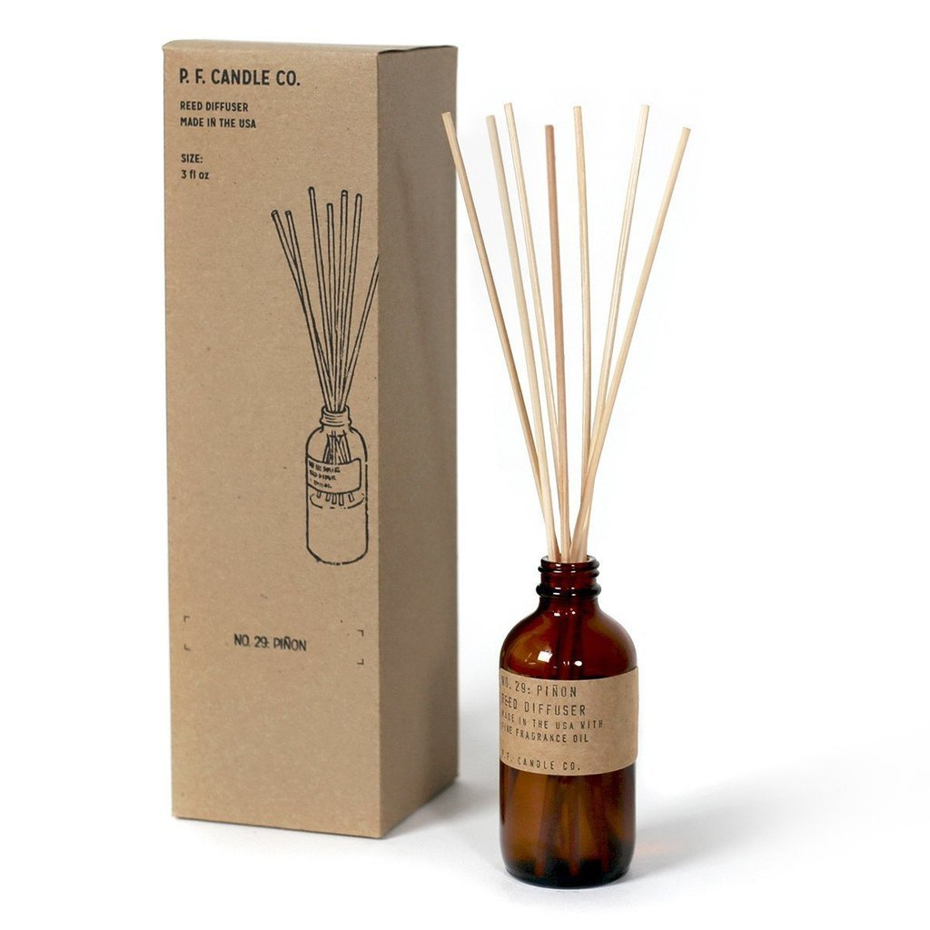 Piñon Rose Reed Diffuser by PF Candle Co PF Candle Co Decor