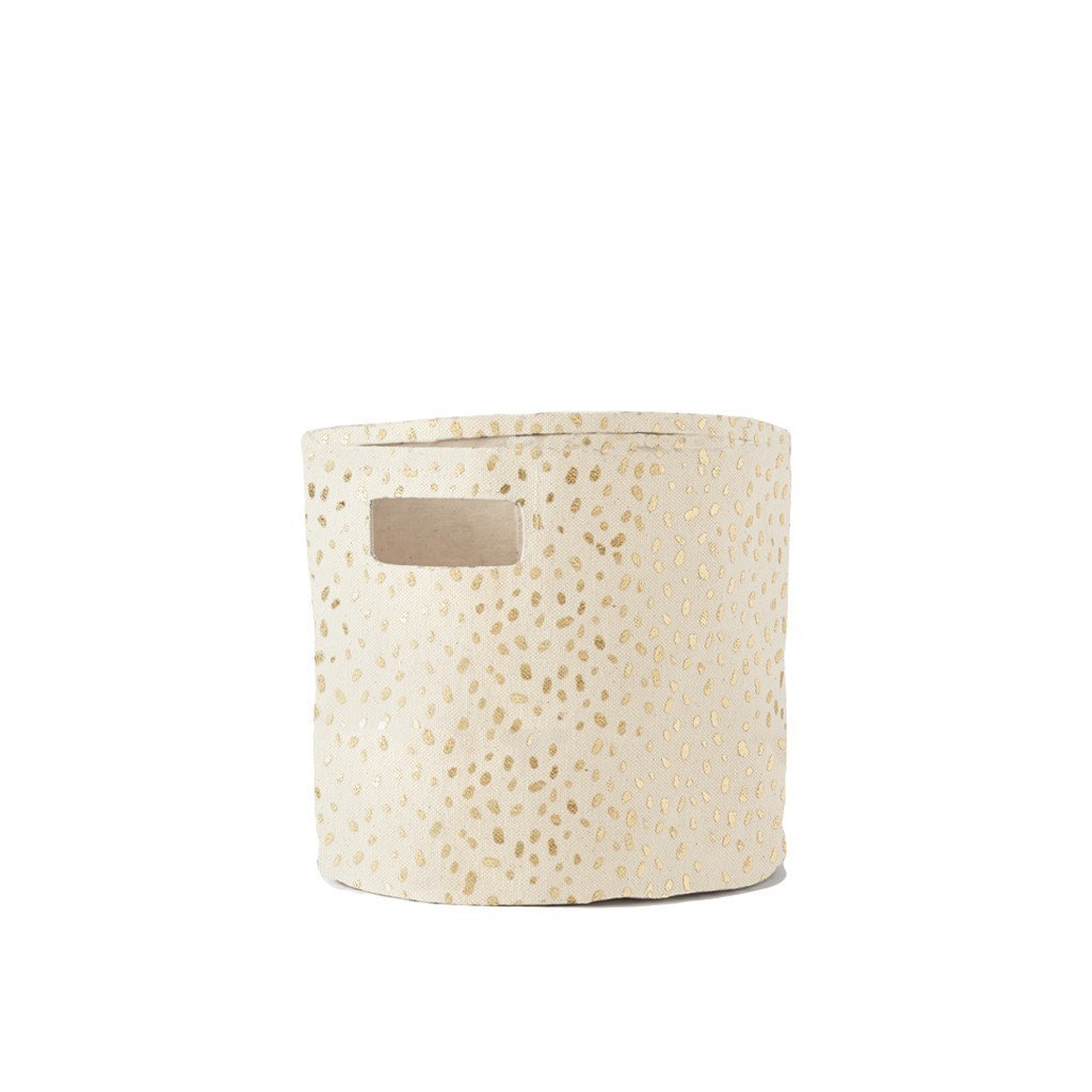 Gold Foil Speck Storage by Pehr