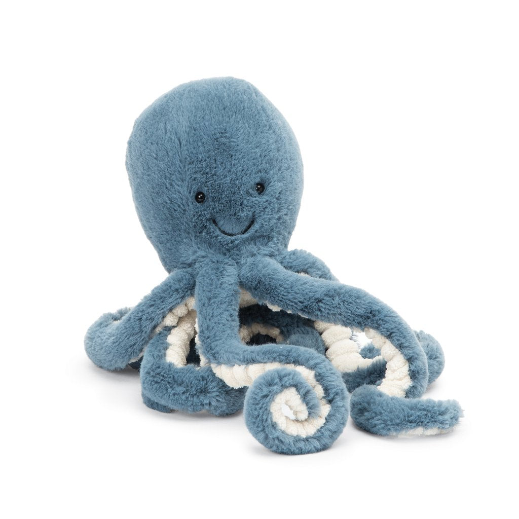 Storm Octopus - Little 12 Inch by Jellycat Jellycat Toys
