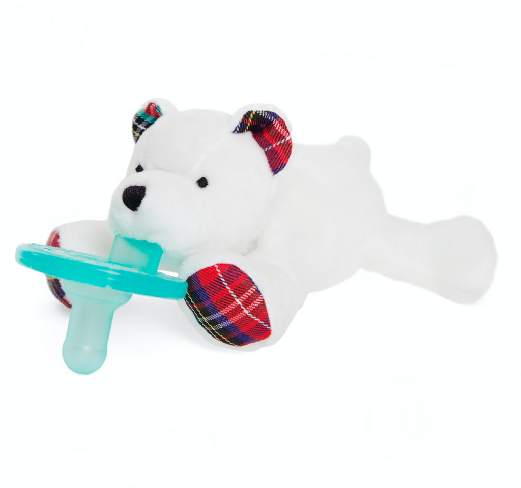 Wubbanub Animal Pacifier - Polar Bear