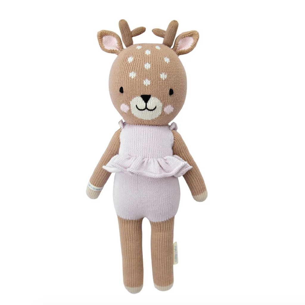 Violet the Fawn - Little 13 Inch by Cuddle + Kind Cuddle + Kind Toys