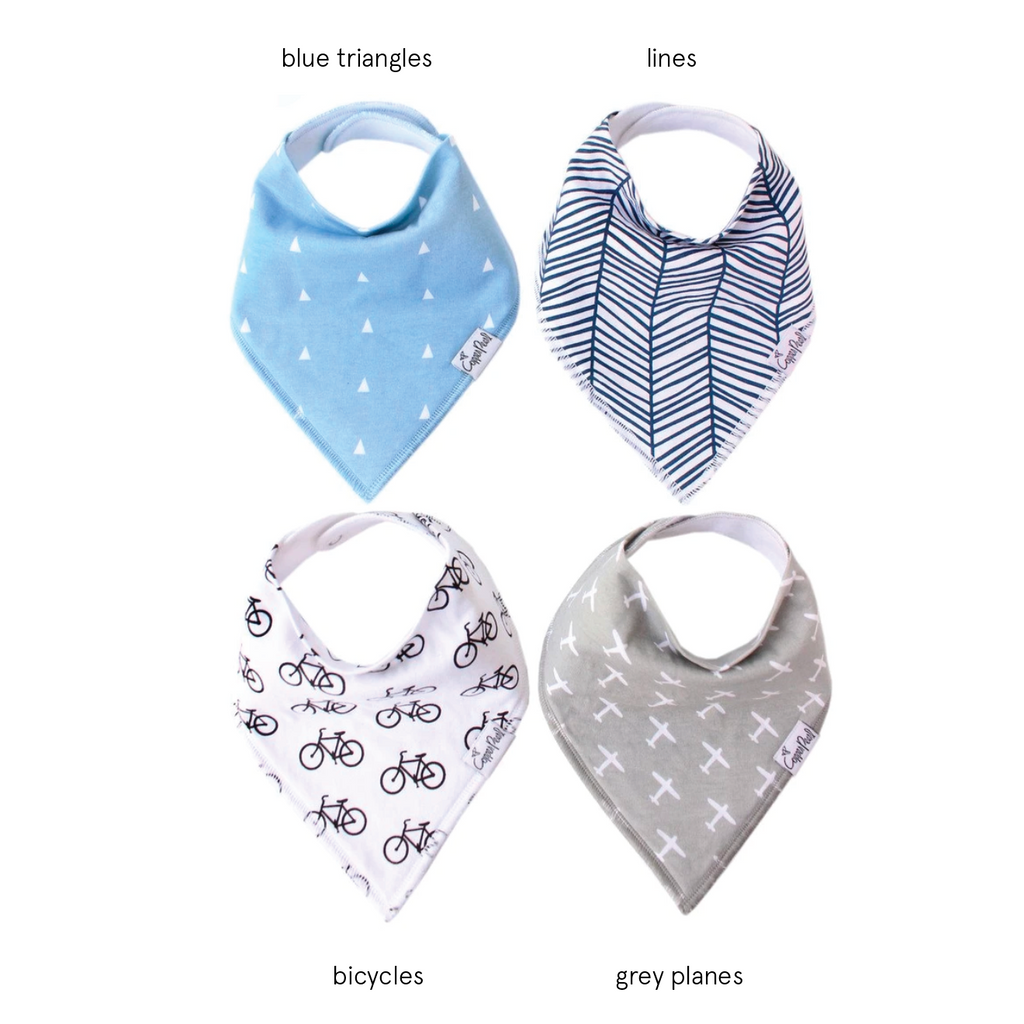 Single Bandana Bib - Cruise by Copper Pearl