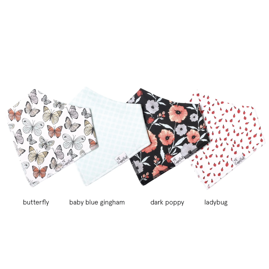 Single Bandana Bib - Dot by Copper Pearl