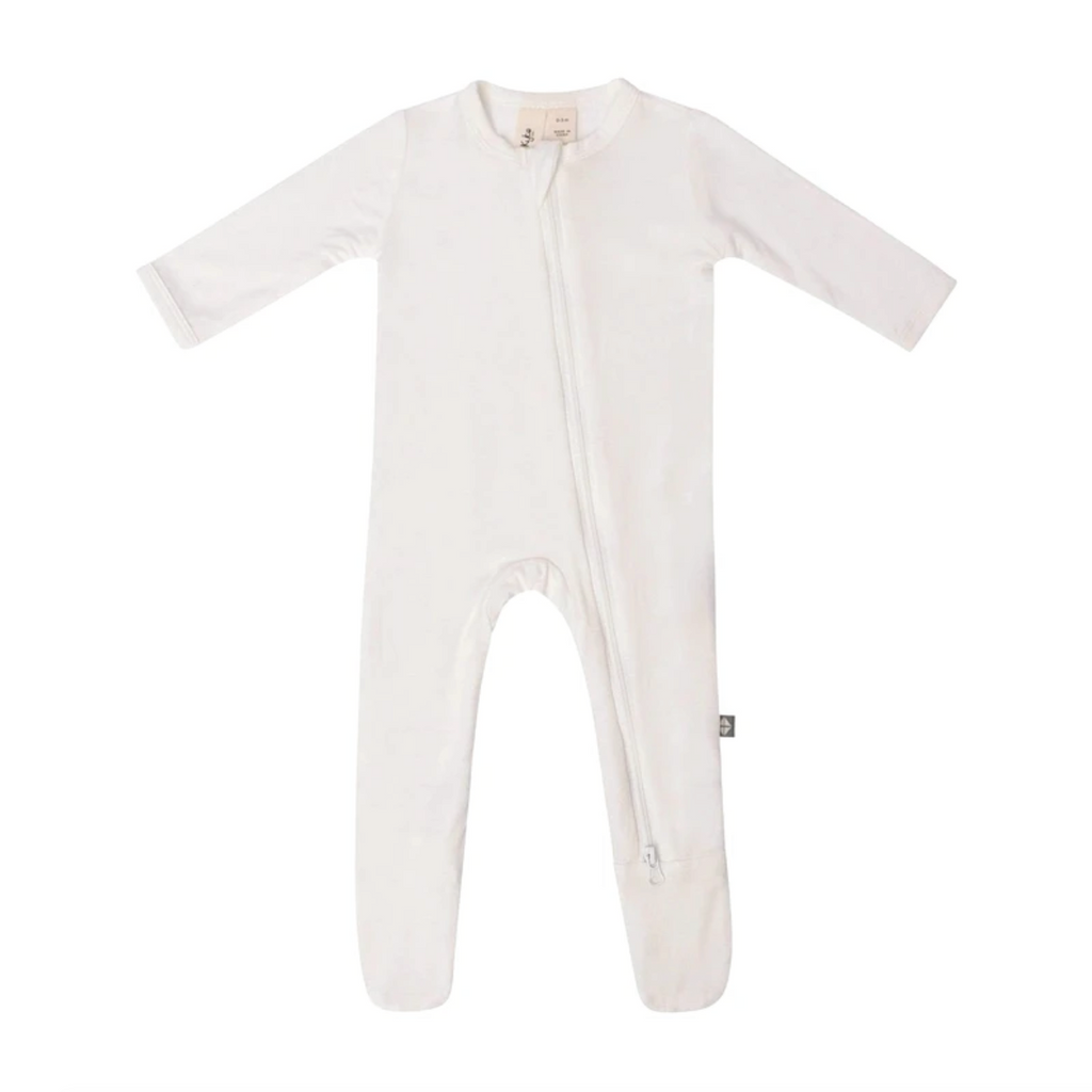 Solid Footie - Cloud by Kyte Baby Kyte Baby Apparel