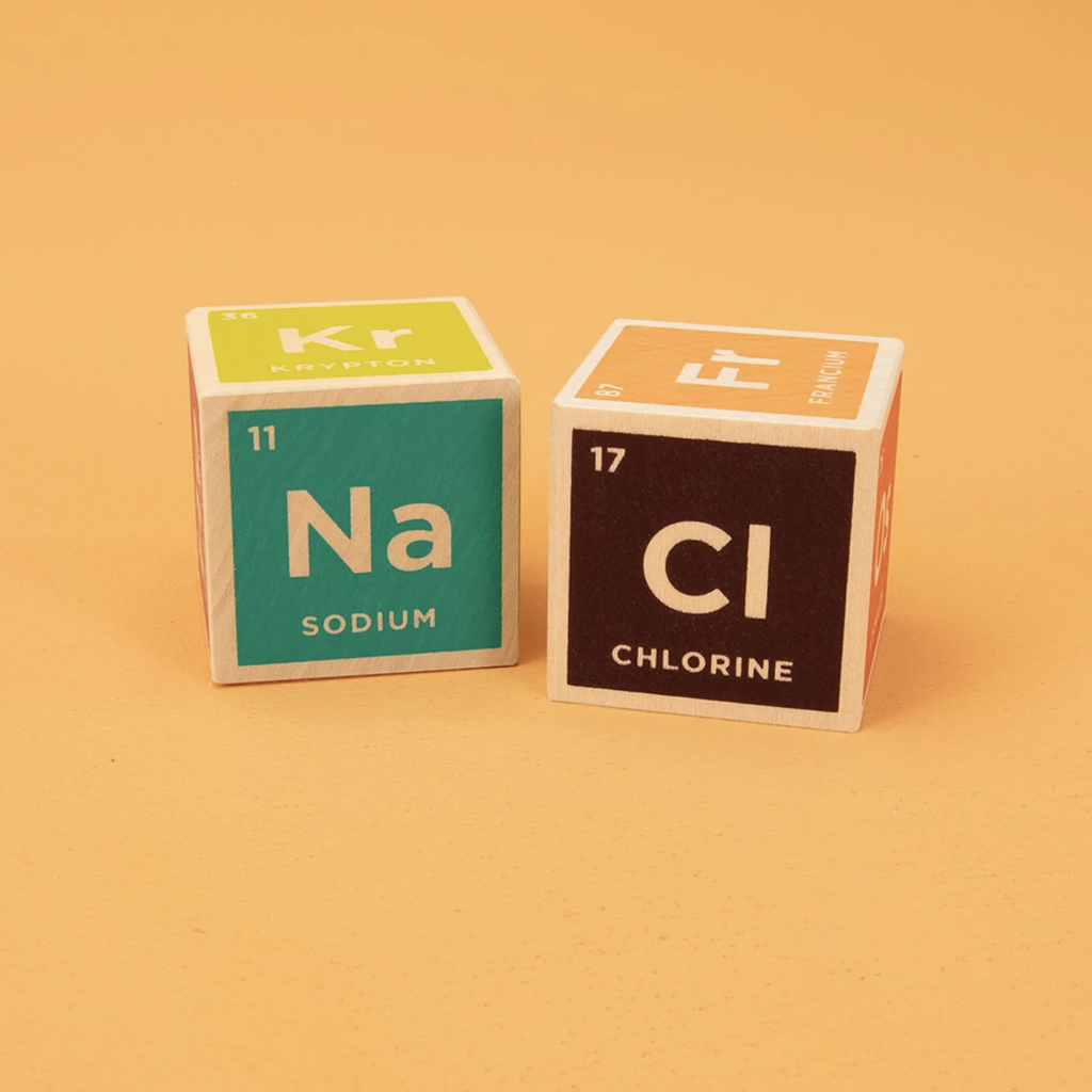 Elemental - Periodic Table Wooden Blocks by Uncle Goose Uncle Goose Toys
