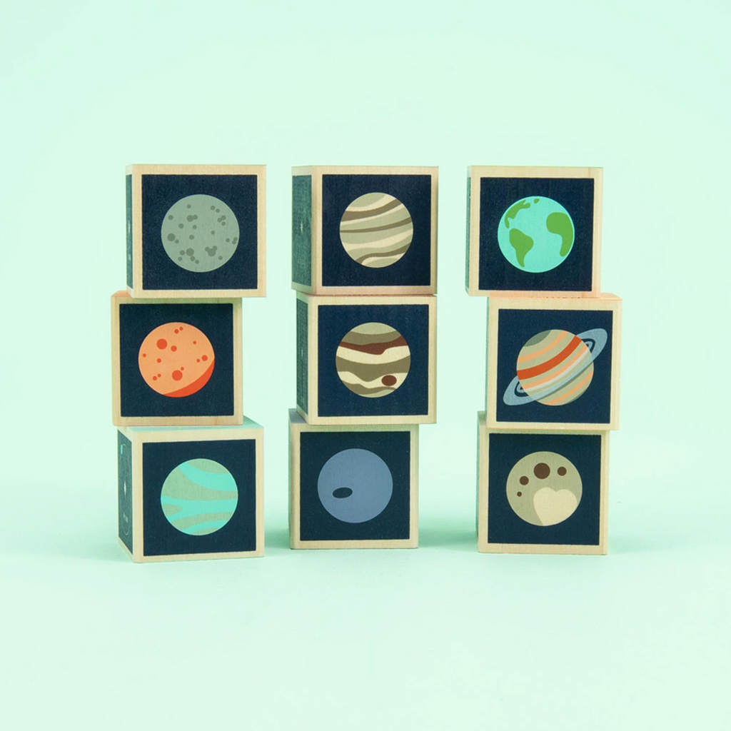 Planet Wooden Blocks by Uncle Goose Uncle Goose Toys
