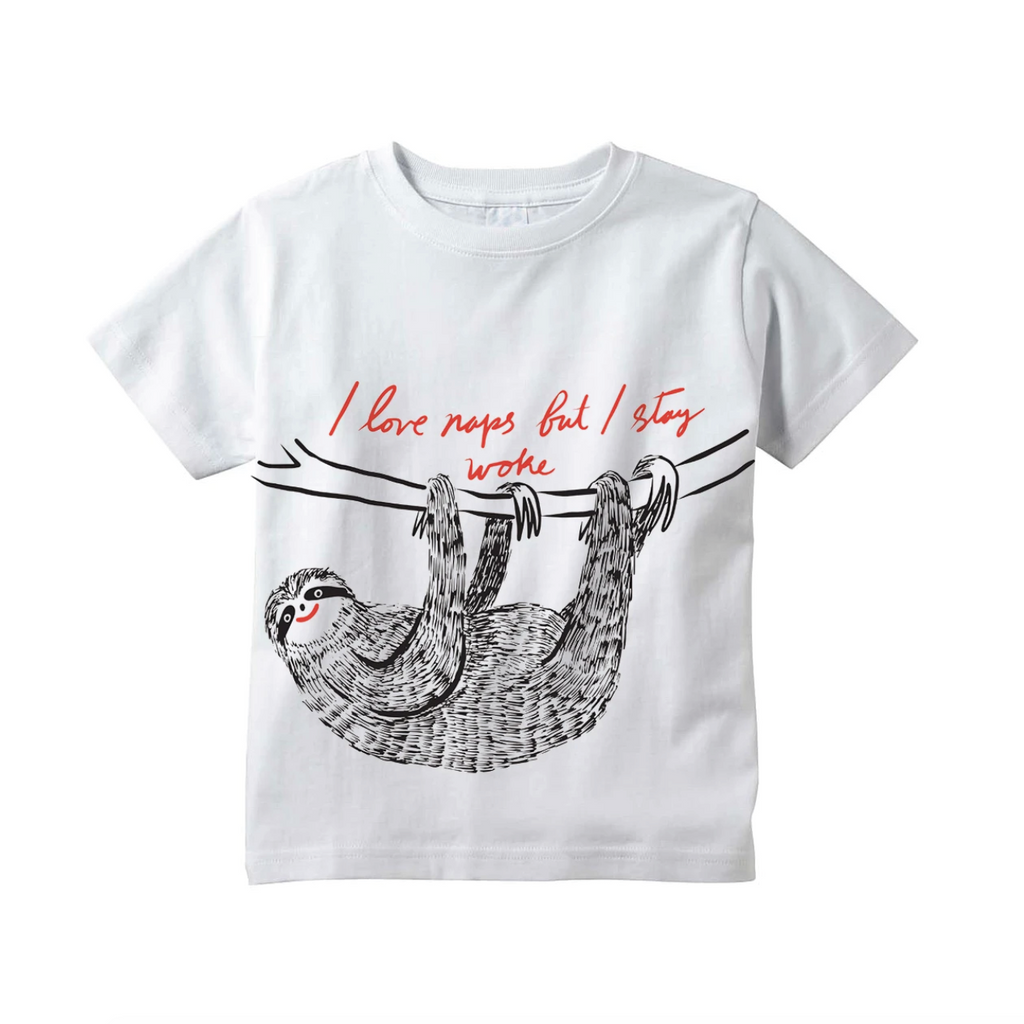 I Love Naps Tee - White by Youths