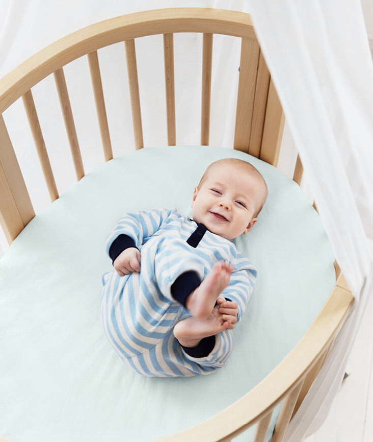 Sleepi Mini Fitted Sheet by Stokke