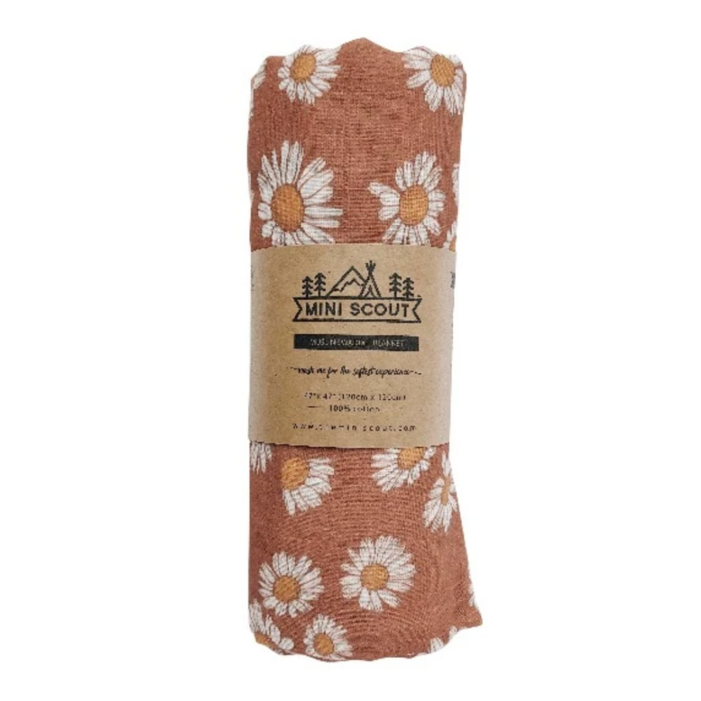 Daisy Swaddle by Mini Scout