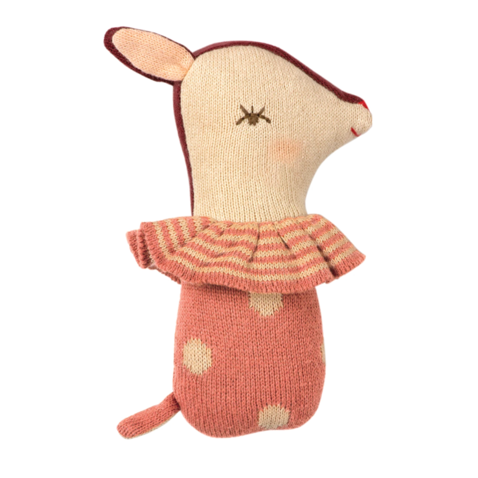 Bambi Rattle - Rose by Maileg