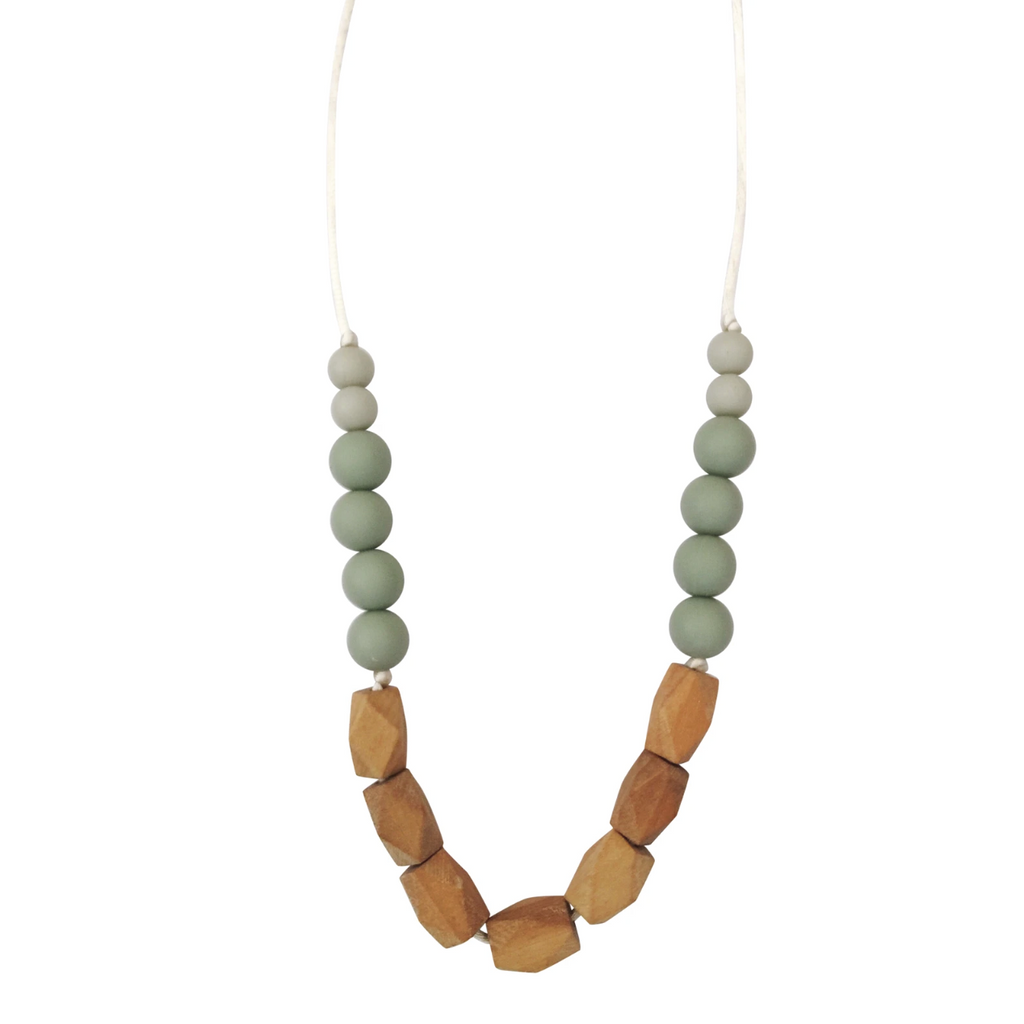 Harrison Teething Necklace - Succulent by Chewable Charm