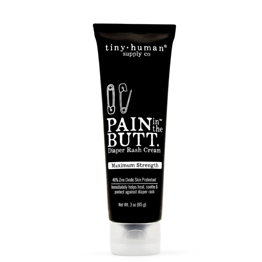 Pain in the Butt MAX Diaper Rash Cream - 3 oz by Tiny Human Supply Co.