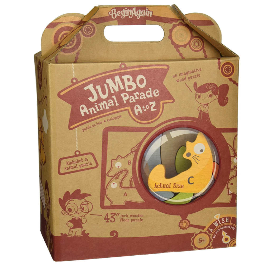 Jumbo Animal Parade A to Z by Begin Again