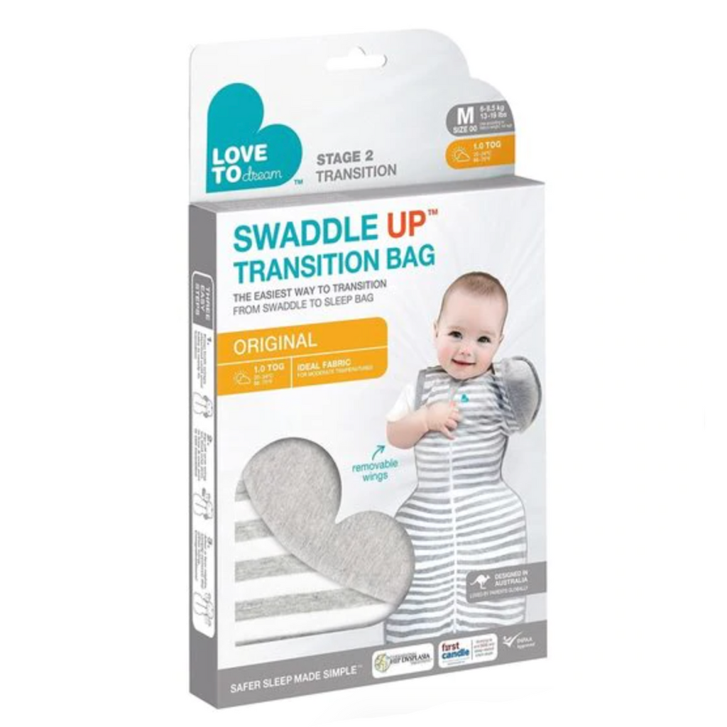 Love to Swaddle Up 50/50 - Grey by Love to Dream