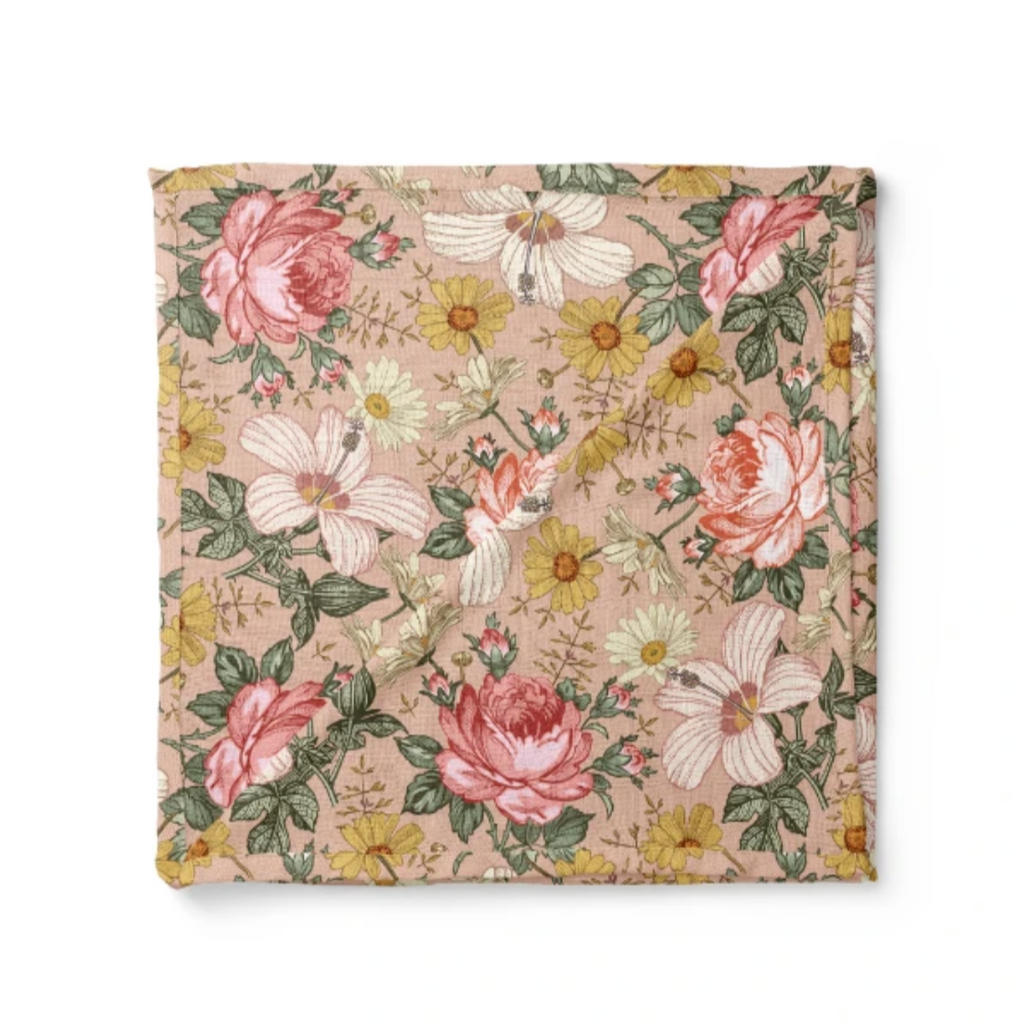 Garden Floral Swaddle by Mini Scout