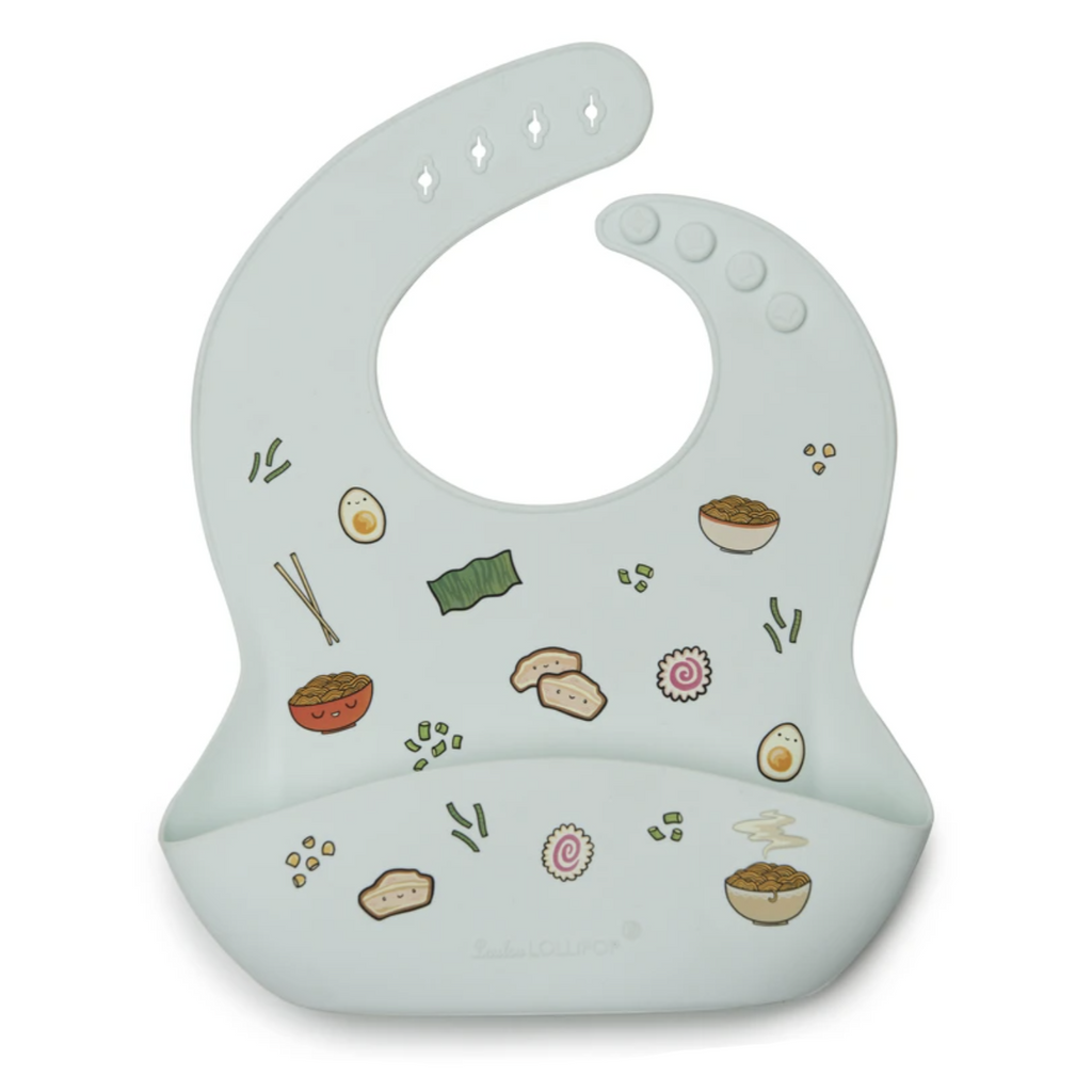 Silicone Bib - Ramen by Loulou Lollipop