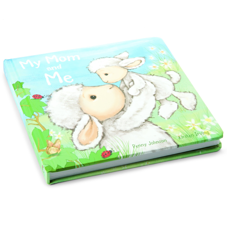 My Mom and Me - Board Book by Jellycat