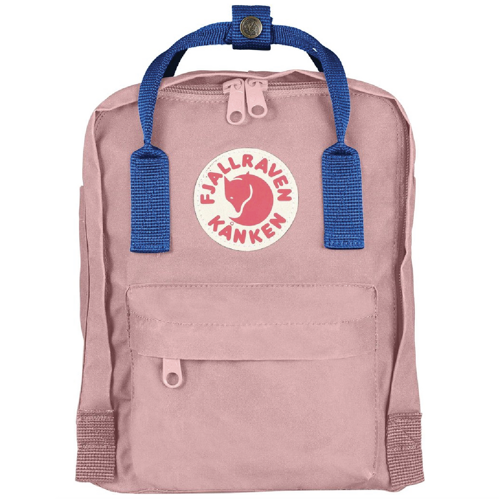 Kånken Mini Backpack - Pink + Air Blue by Fjallraven Fjallraven Accessories