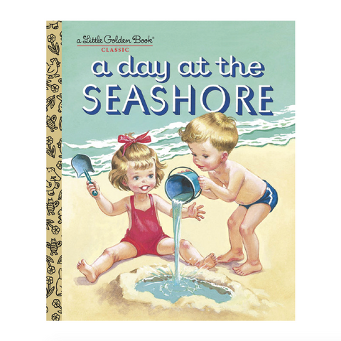 A Day at the Seashore - Little Golden Book
