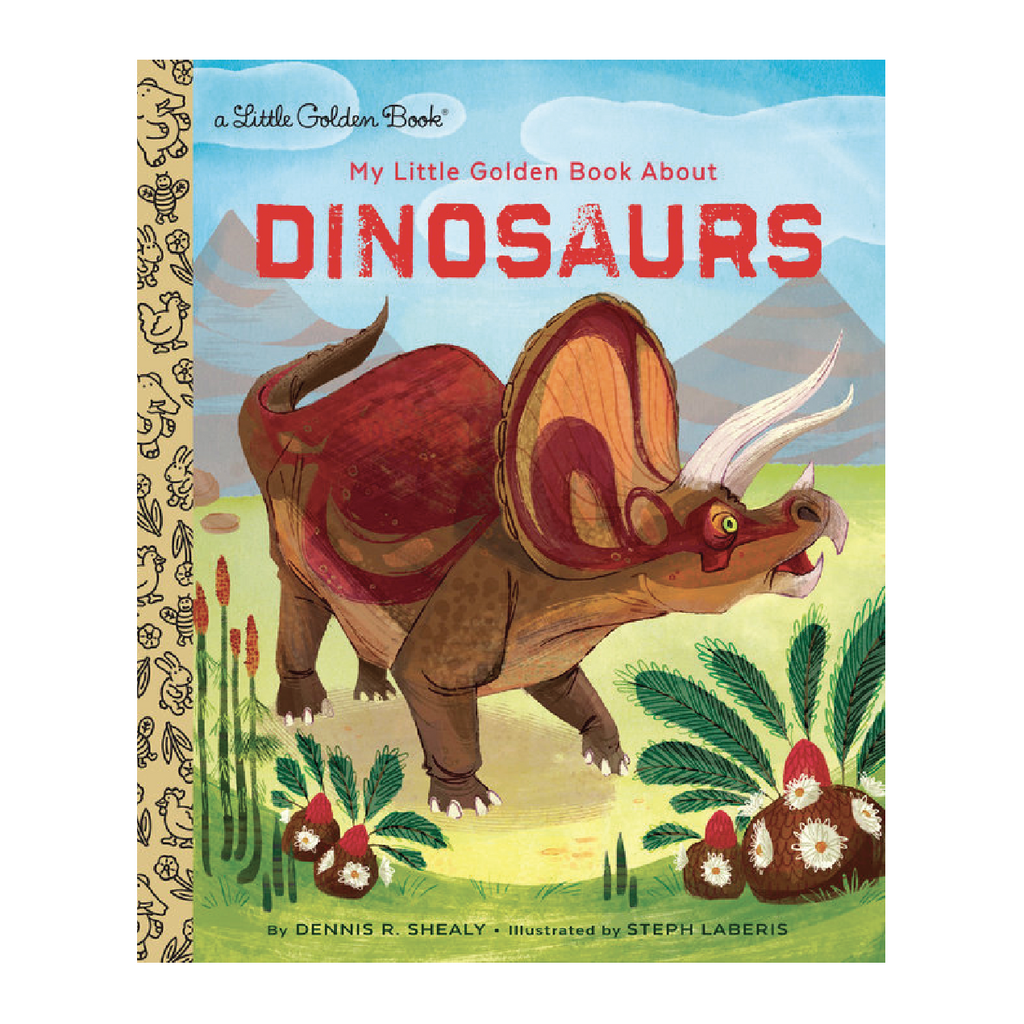 My Little Golden Book About Dinosaurs - Little Golden Book