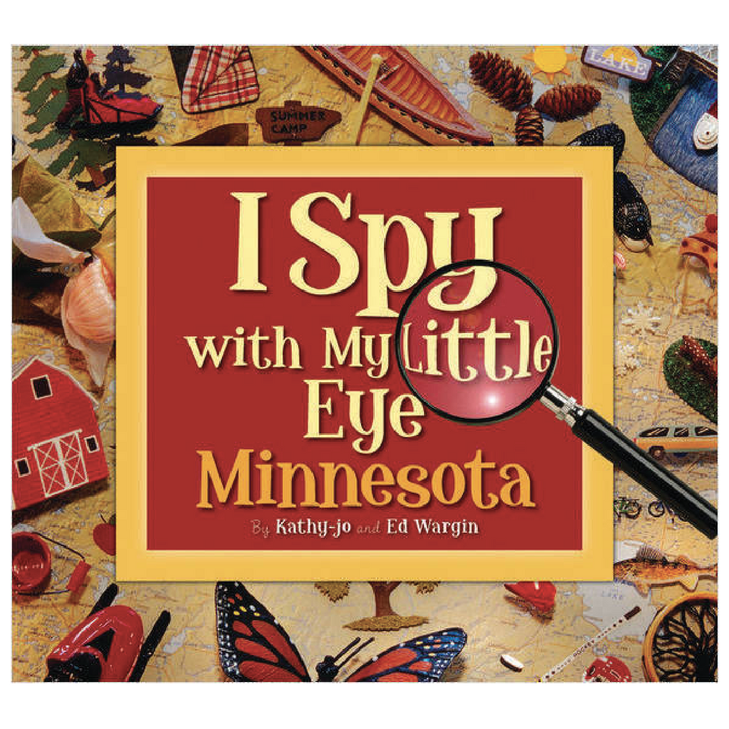 I Spy with My Little Eye Minnesota - Hardcover