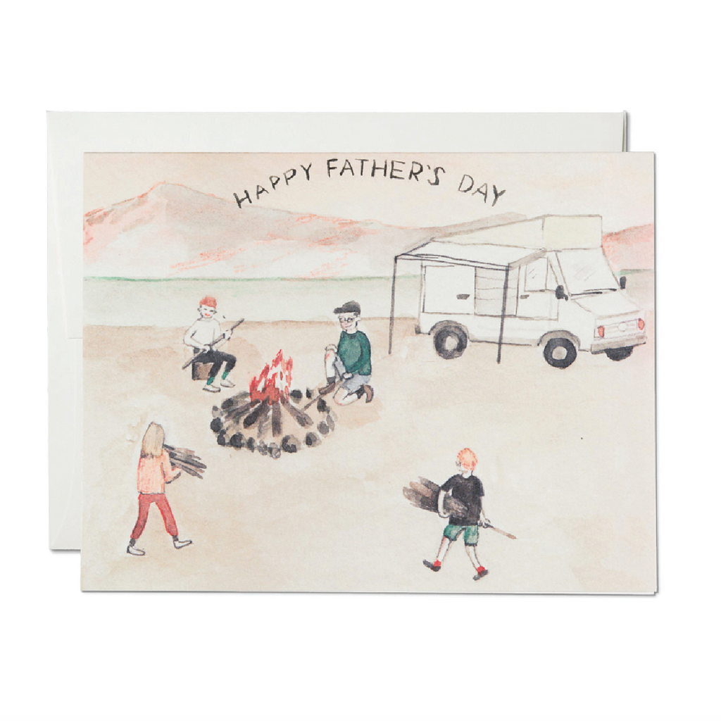Dad's Motorhome Card