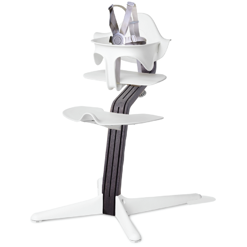 Nomi Highchair - Black Oak by Evomove