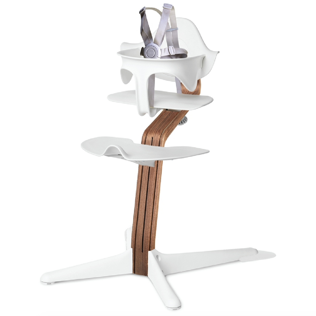 Nomi Highchair - Walnut by Evomove Evomove Furniture