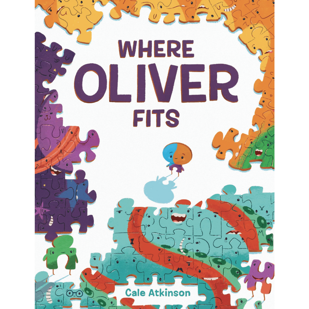 Where Oliver Fits - Board Book Random House Books