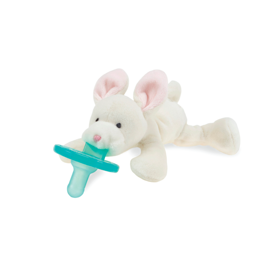 Wubbanub Animal Pacifier - Baby Bunny