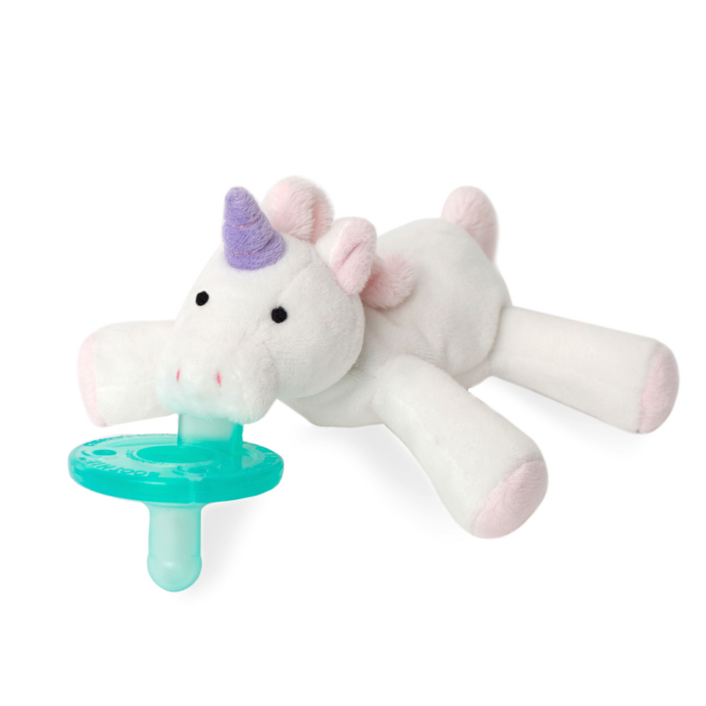 Wubbanub Animal Pacifier - Baby Unicorn