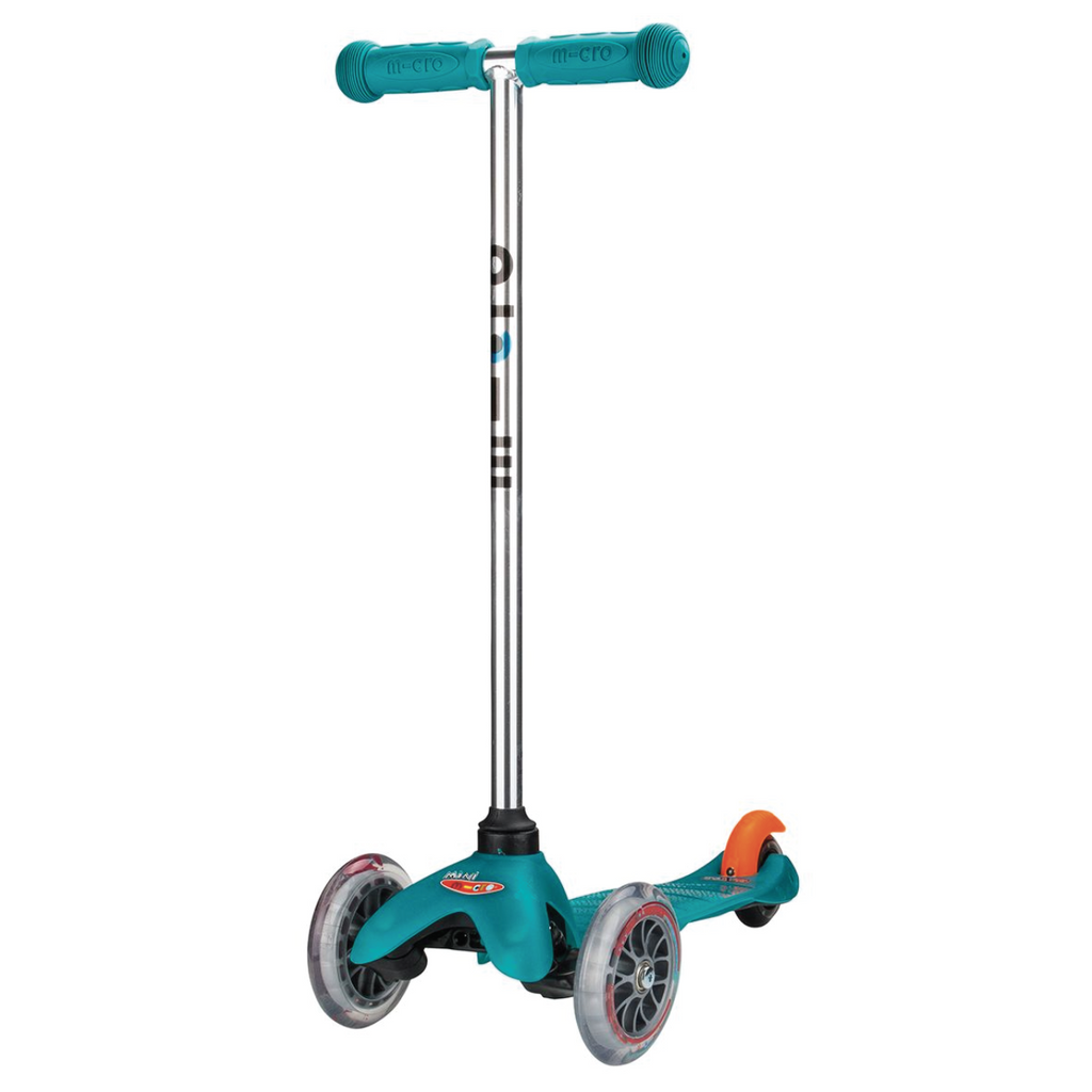 Mini Deluxe Scooter - Aqua by Micro Kickboard