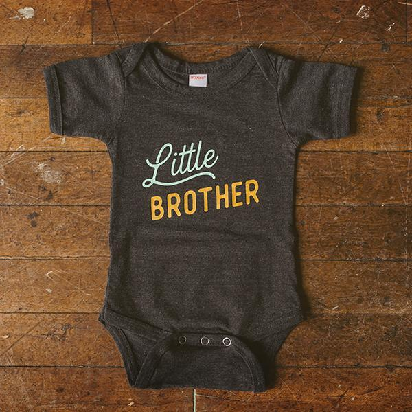 Cotton Bodysuit - Little Brother Sweetpea + Co Apparel