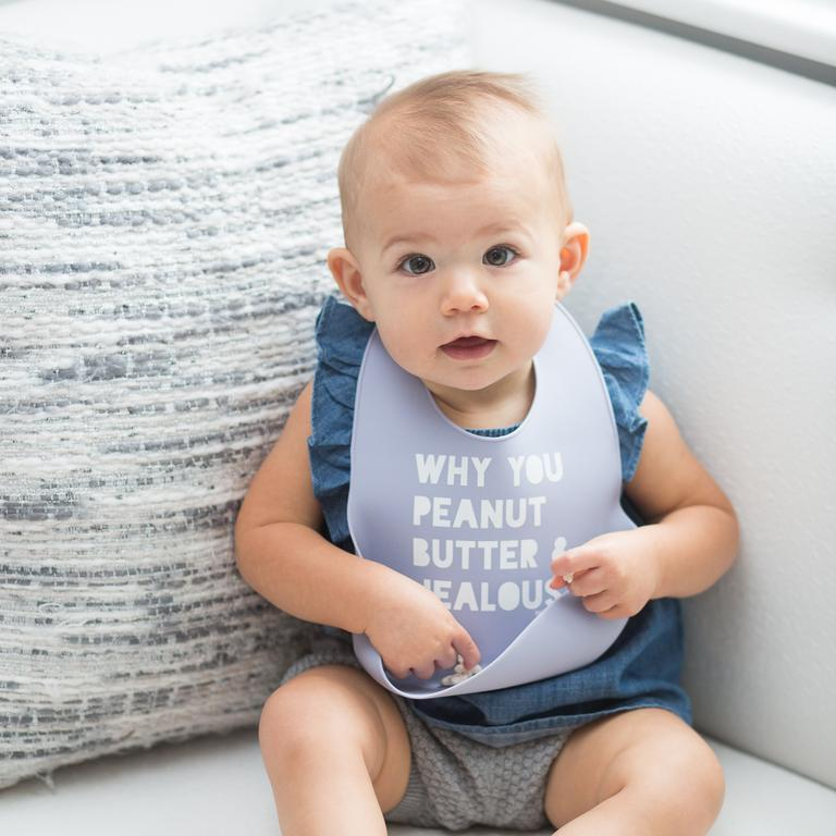 Wonder Bib - Peanut Butter + Jealous by Bella Tunno