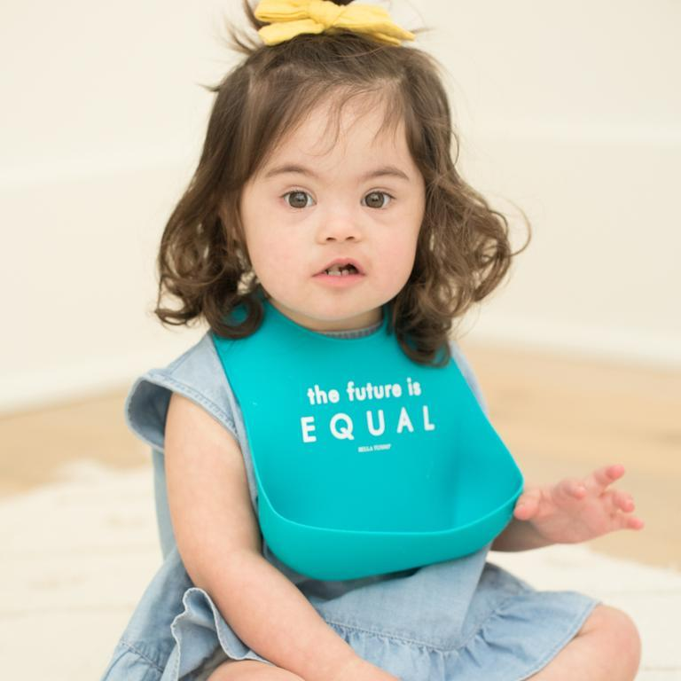 Wonder Bib - The Future is Equal by Bella Tunno