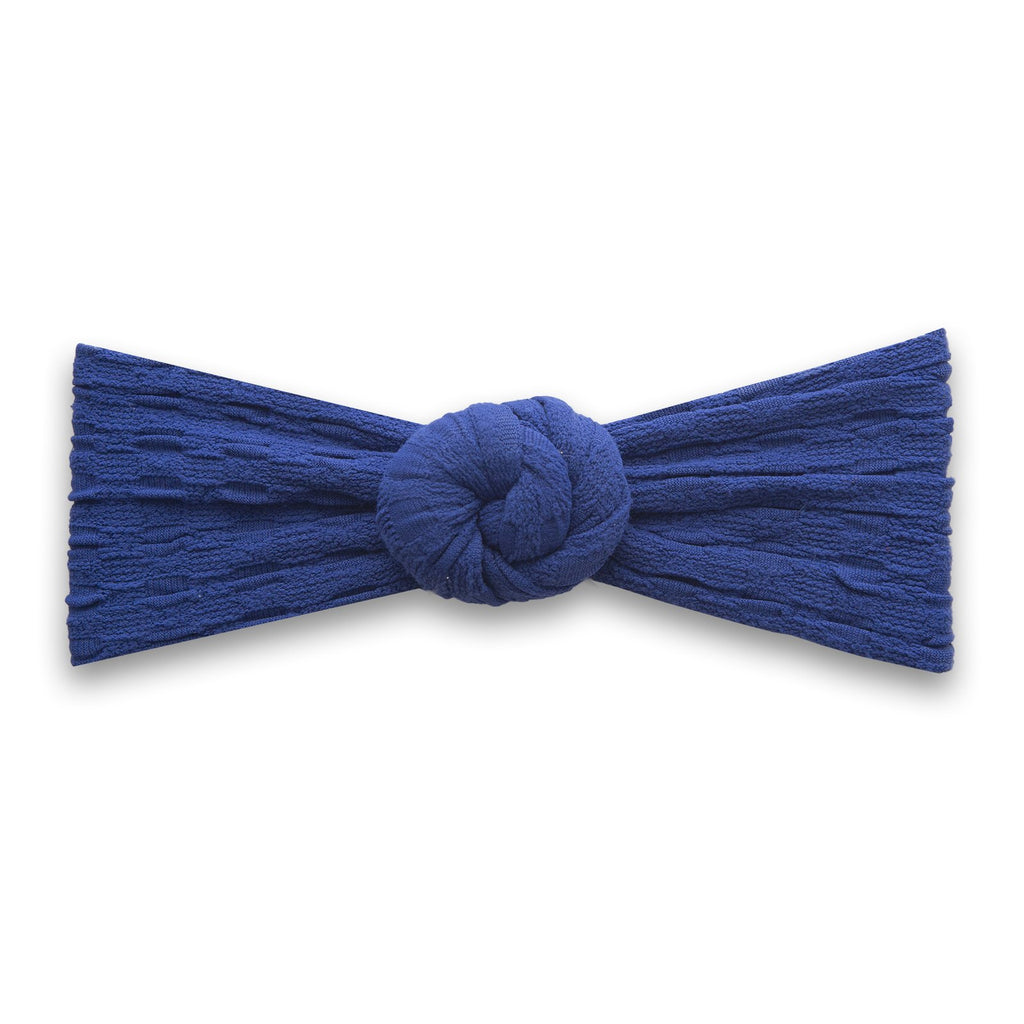 Waffle Bun Headband - Indigo by Baby Bling Baby Bling Accessories