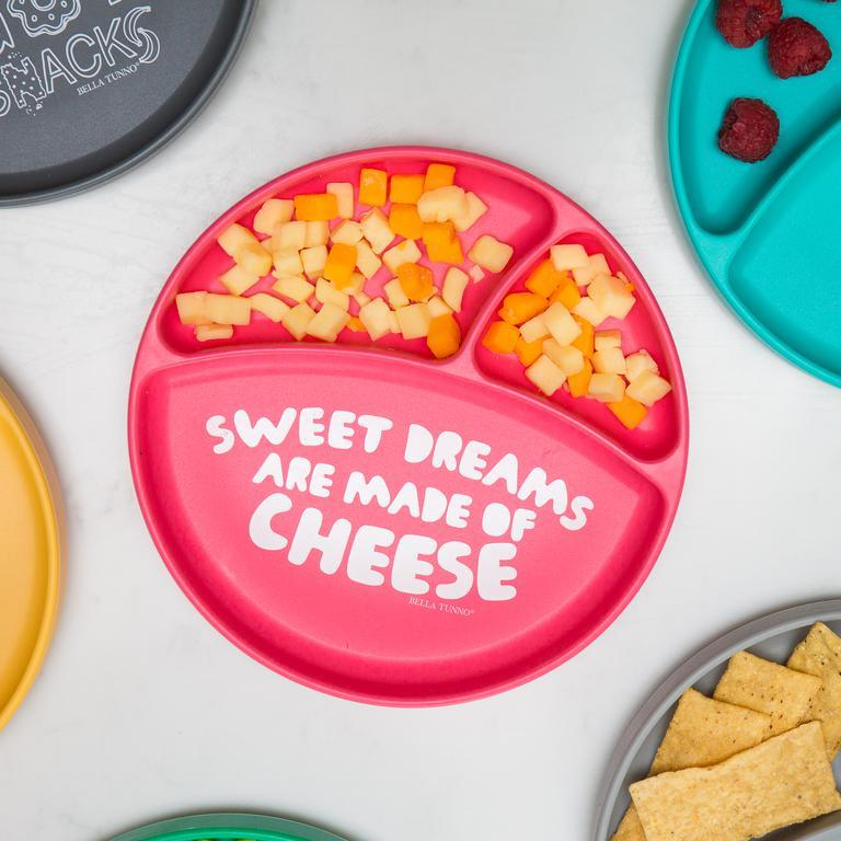 Wonder Plate - Sweet Dreams are Made of Cheese by Bella Tunno Bella Tunno Nursing + Feeding