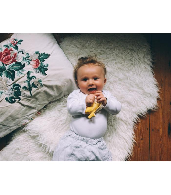Ana Banana Fruit Teether by Oli & Carol