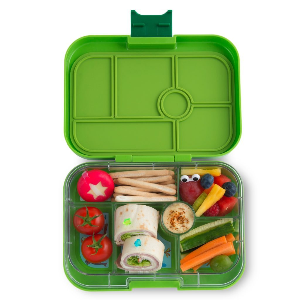 Yumbox Leakproof Bento Box - 6 Compartment - Avocado Green