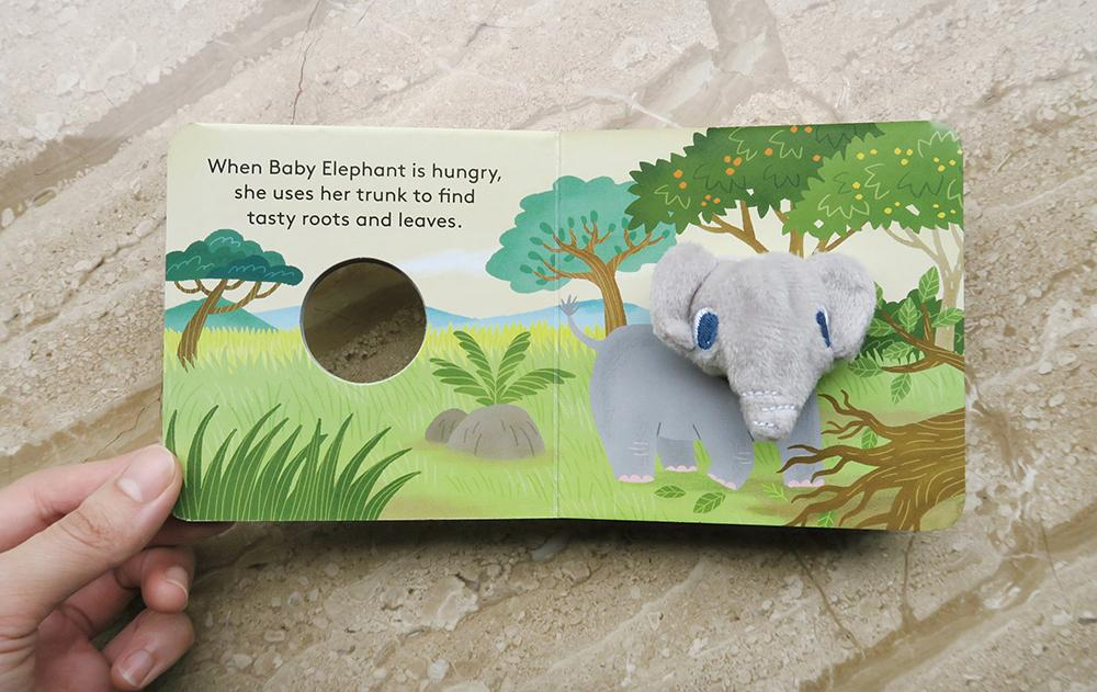 Baby Elephant - Finger Puppet Board Book