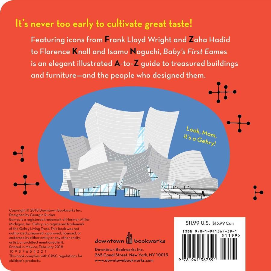 Baby's First Eames - Board Book Simon + Schuster Books