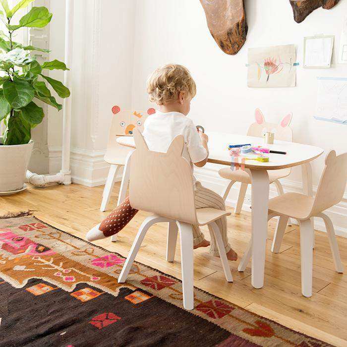 Bear Play Chair (Set of 2) - Birch by Oeuf Oeuf Furniture