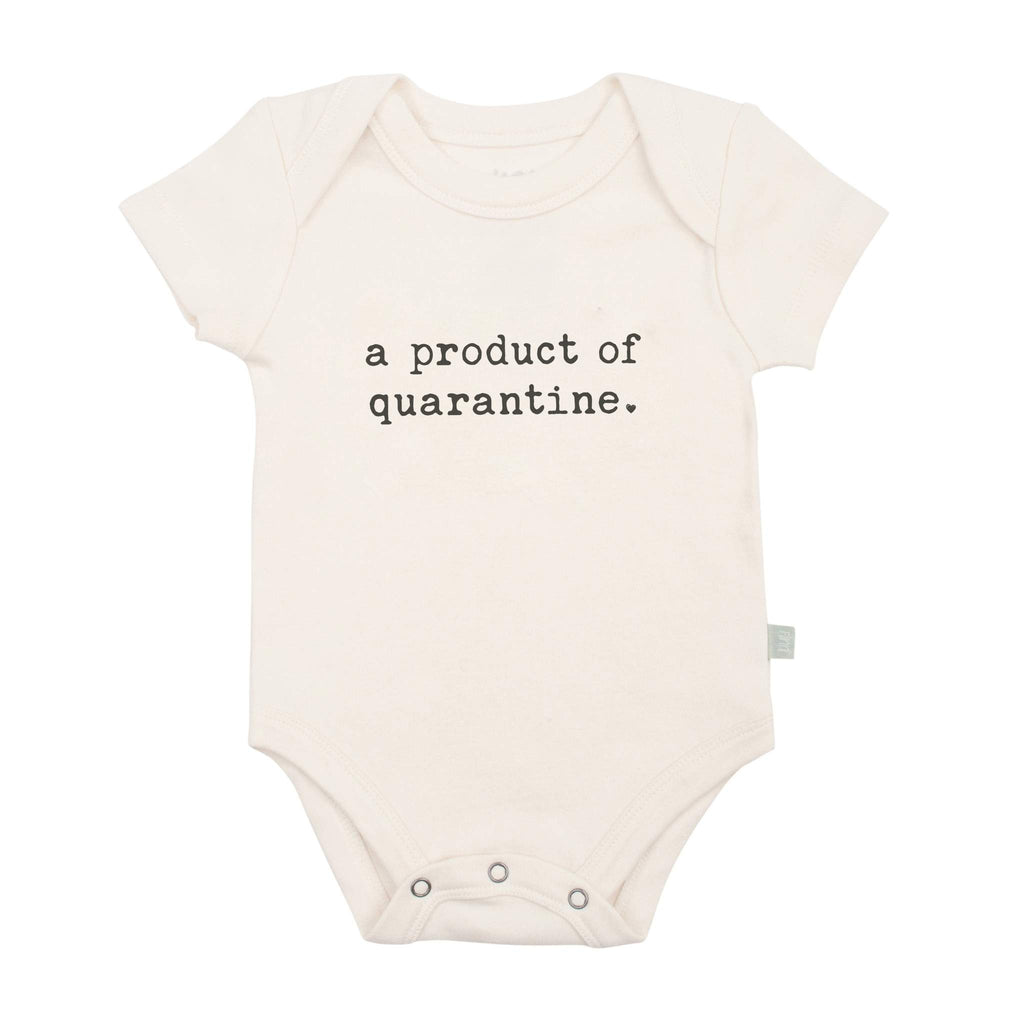 Product of Quarantine Organic Bodysuit by Finn + Emma