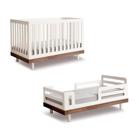 Classic Toddler Bed Conversion Kit - White by Oeuf - Pacifier