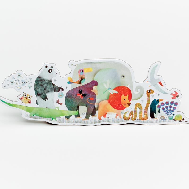 36 Piece Giant Floor Puzzle - Animal Parade by Djeco Djeco Toys