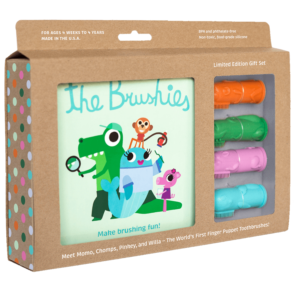 Brushie Gift Set The Brushies Bath + Potty