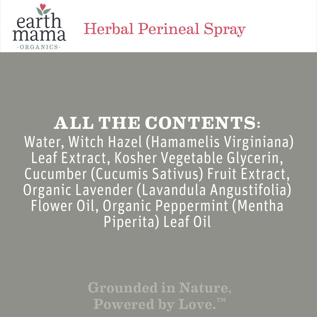 Herbal Perineal Spray by Earth Angel Baby Mama