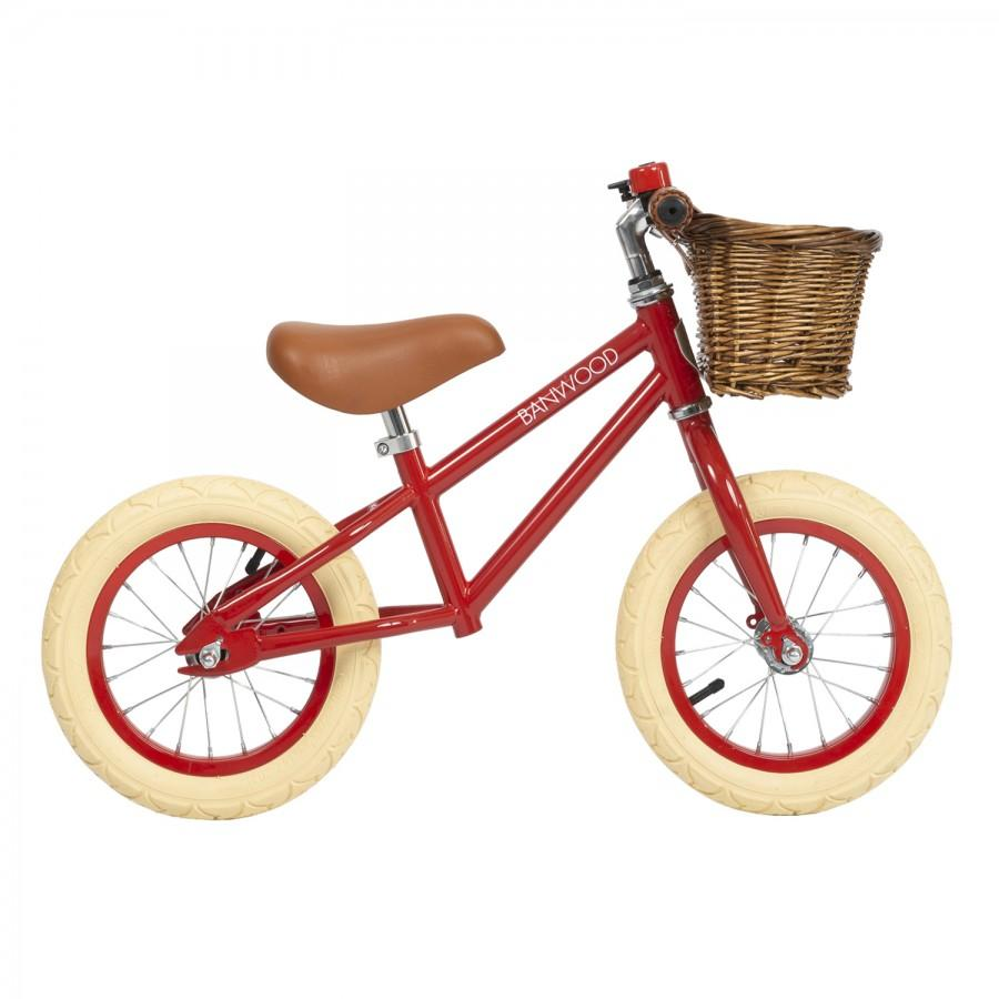 FIRST GO! Balance Bike - Red by Banwood